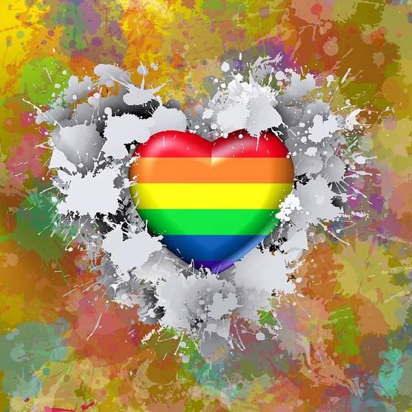 Digital Art - Love Gay by Alberto RuiZ