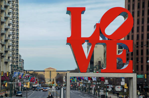 Wall Art - Photograph - Love Has Returned - Philadelphia by Bill Cannon