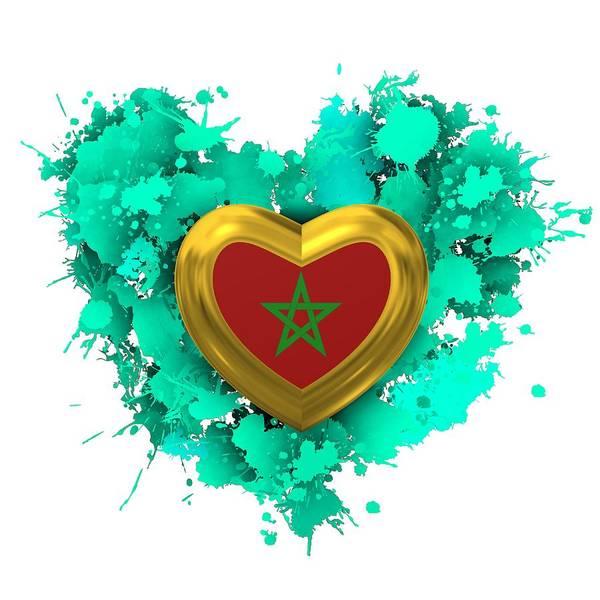 Digital Art - Love Heart Morocco by Alberto RuiZ
