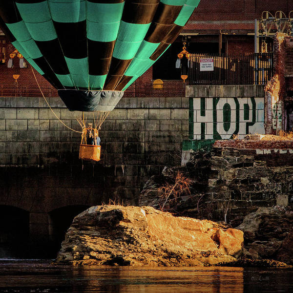 Photograph - Love Hope And A Hot Air Balloon by Bob Orsillo