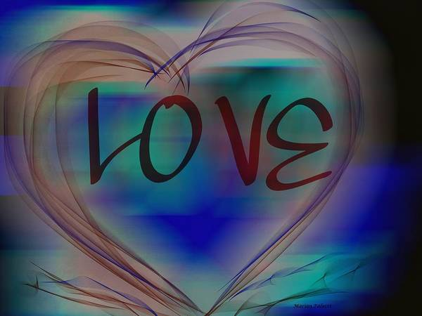 Digital Art - Love In All Colors by Marian Palucci-Lonzetta