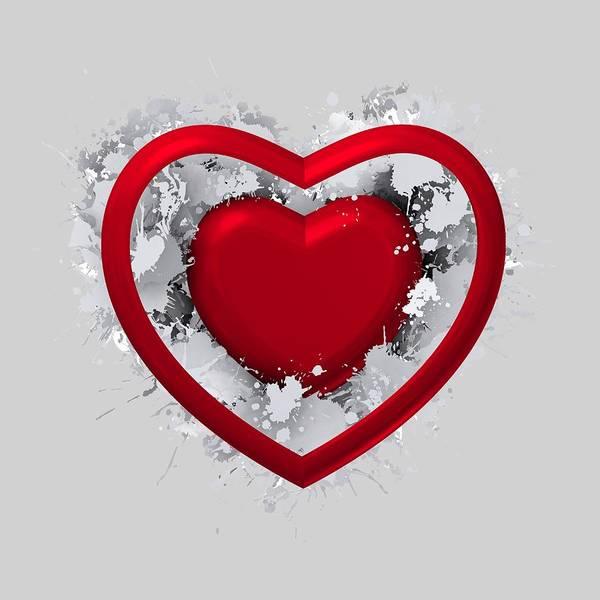 Digital Art - Love In Love by Alberto RuiZ