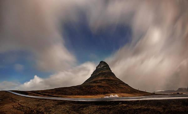Photograph - Love In Nature Over Kirkjufell by Pradeep Raja PRINTS