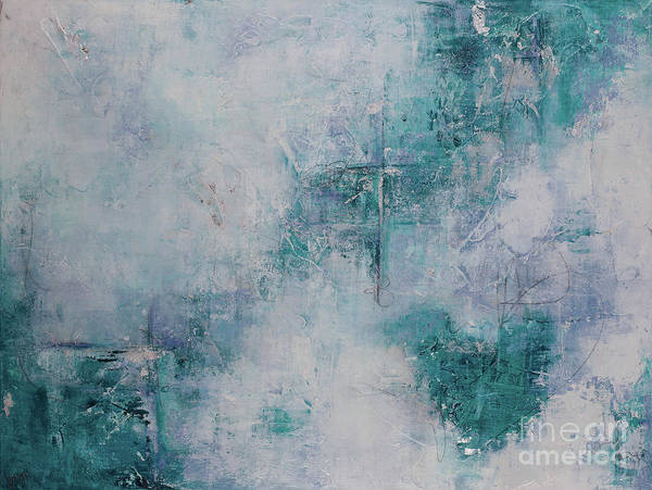 Wall Art - Painting - Love In Negative Spaces by Kirsten Reed