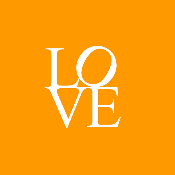 Painting - Love In Orange by Celestial Images