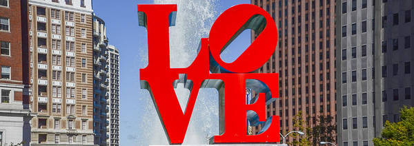 Wall Art - Photograph - Love In Philadelphia Pa by Bill Cannon