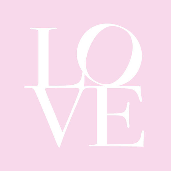Valentines Digital Art - Love In Pink by Michael Tompsett