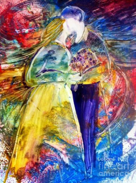 Painting - Love Is All Around by Deborah Nell