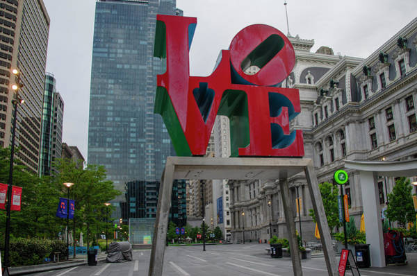 Wall Art - Photograph - Love Is All Around - Philadelphia by Bill Cannon
