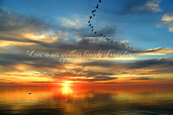 Photograph - Love Is Endless Wonder by Cyryn Fyrcyd
