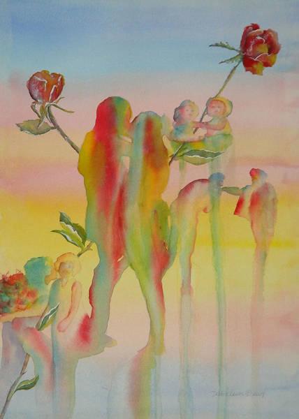 Painting - Love Is Eternal by Debbie Lewis