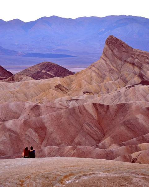 Photograph - Love Is Everywhere - Death Valley by KJ Swan