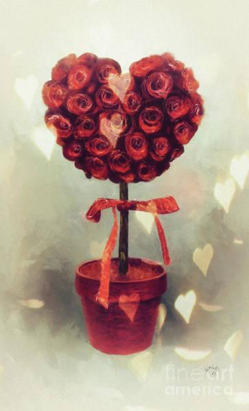 Digital Art - Love Is In The Air by Lois Bryan
