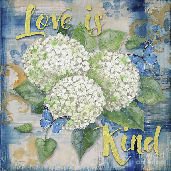 Wall Art - Painting - Love Is Kind by Jean Plout
