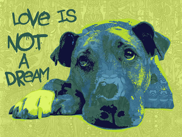 Wall Art - Painting - Love Is Not A Dream by Dean Russo Art