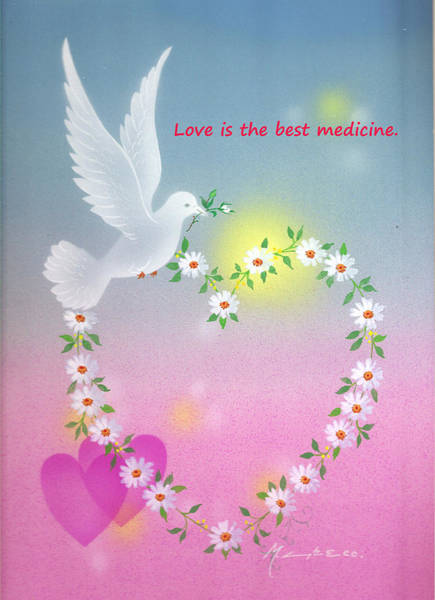 Painting - Love Is The Best Medicine by Laura Greco