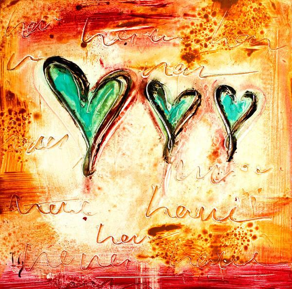 Wall Art - Mixed Media - Love by Ivan Guaderrama