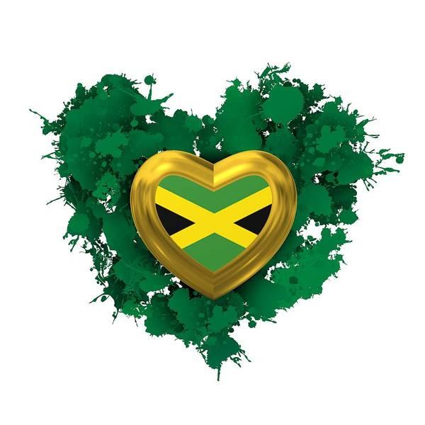 Digital Art - Love Jamaica S by Alberto RuiZ