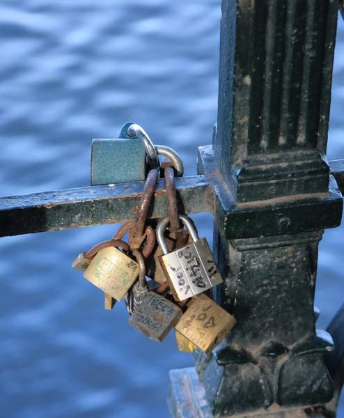 Photograph - Love Lock by Gia Marie Houck