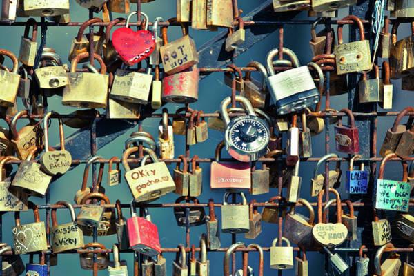 Photograph - Love Locks by John Magyar Photography