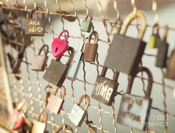 Padlock Photograph - Love Locks  by Juli Scalzi