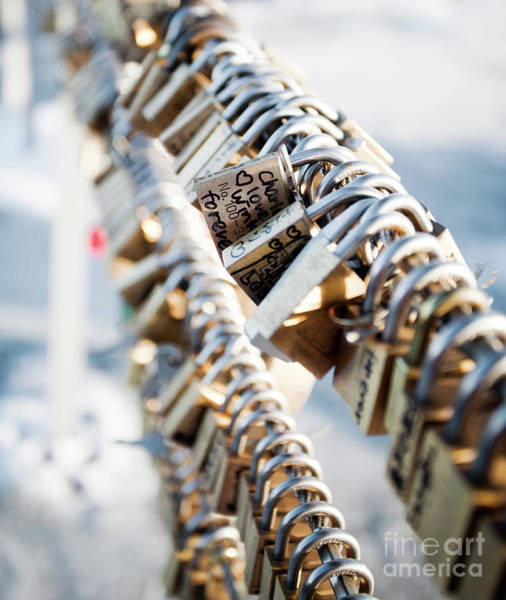 Wall Art - Photograph - Love Locks by Kati Finell
