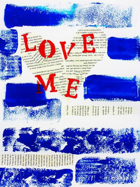 Wall Art - Painting - Love Me by Cristina Stefan