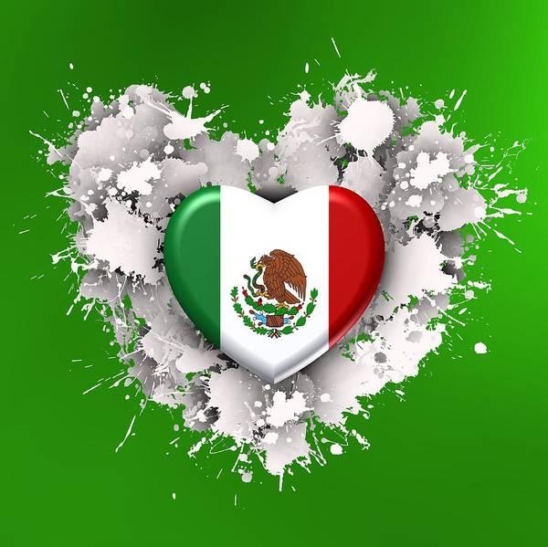 Digital Art - Love Mexico by Alberto RuiZ