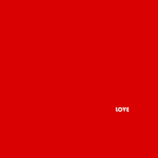 Photograph - Love Minimalism 1 by Andrew Fare