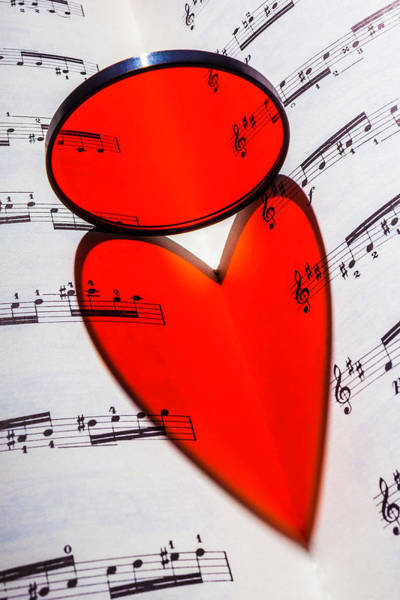 Love Notes Wall Art - Photograph - Love Music by Garry Gay