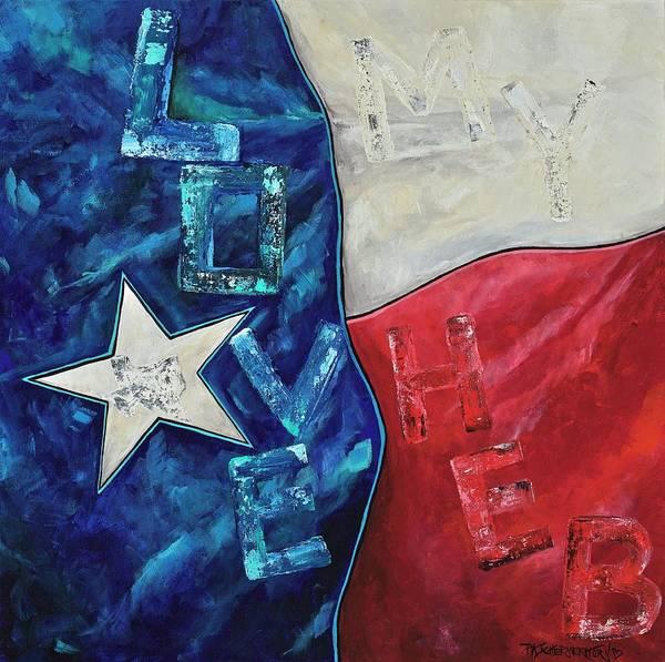Painting - Love My Heb by Patti Schermerhorn