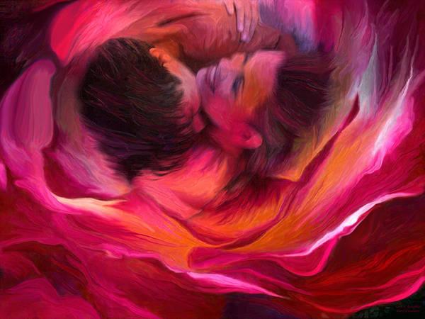Mixed Media - Love N' Laughter by Carol Cavalaris