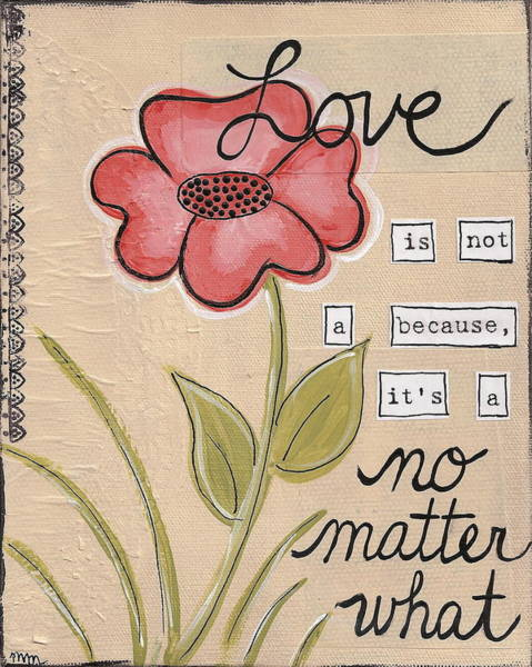 Painting - Love No Matter What by Monica Martin
