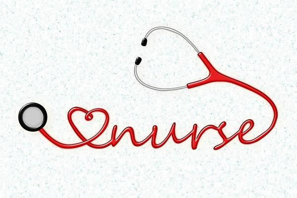 Mixed Media - Love Nurse by Anastasiya Malakhova
