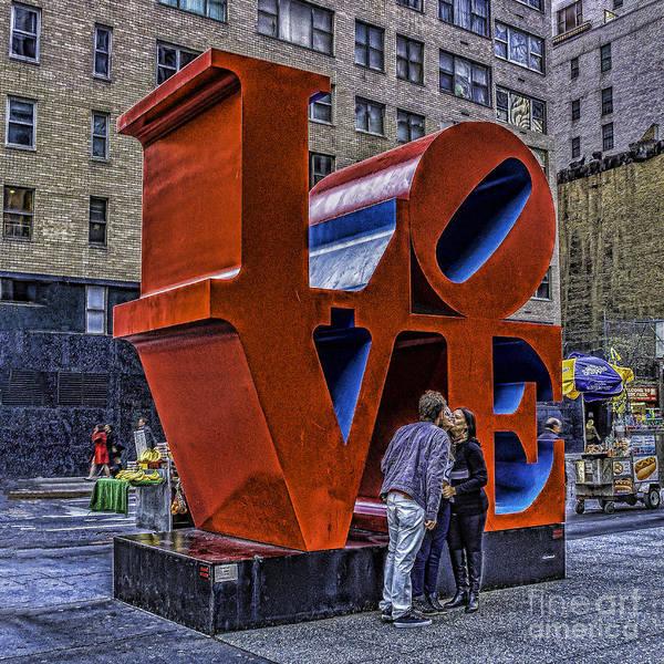 Photograph - Love On A Street Corner by Nick Zelinsky
