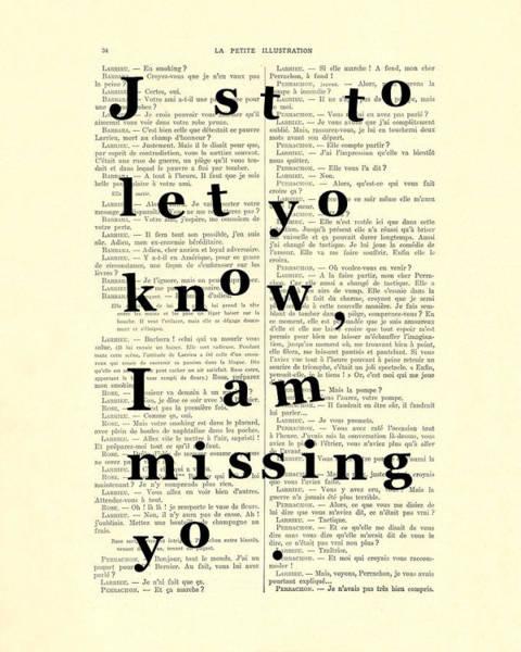 Missing Wall Art - Digital Art - Love Poem, Valentine Gift  by Madame Memento