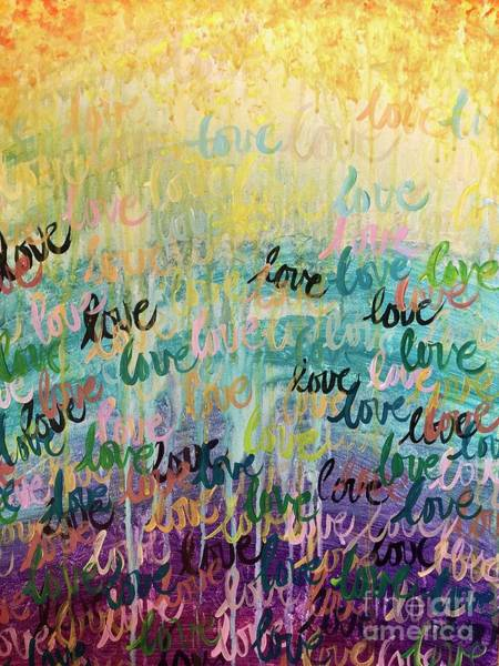 Painting - Love Reigns by Lisa DuBois