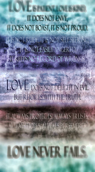 Definition Digital Art - Love Rejoices With The Truth by Angelina Tamez