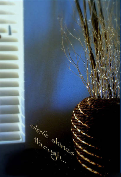Wall Art - Photograph - Love Shines Through by Holly Kempe