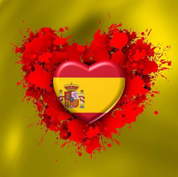 Digital Art - Love Spain by Alberto RuiZ