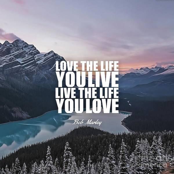 I Phone Case Mixed Media - Love The Life... by Silva Lara