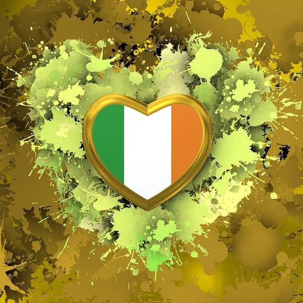 Digital Art - Love To Ireland by Alberto RuiZ