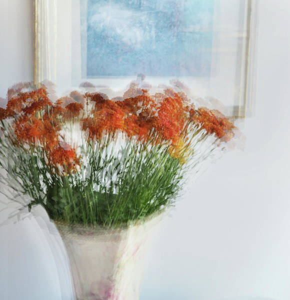 Flowers In A Vase Photograph - Love To Mother by Linde Townsend