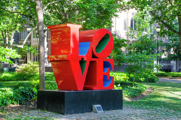 Wall Art - Photograph - Love - University Of Pennsylvania by Bill Cannon