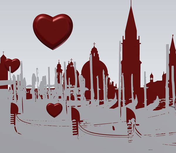 Love Venice Art Print