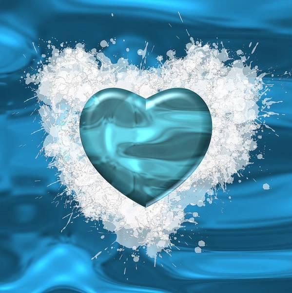 Digital Art - Love Water by Alberto RuiZ