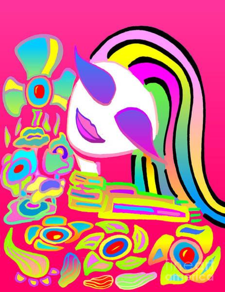 Love Will Blossom Devine Fields Art Print