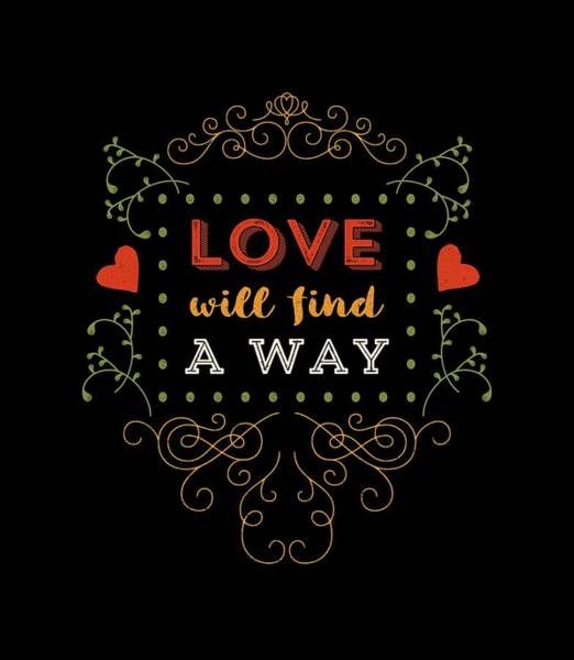 Sweetheart Digital Art - Love Will Find A Way by Antique Images