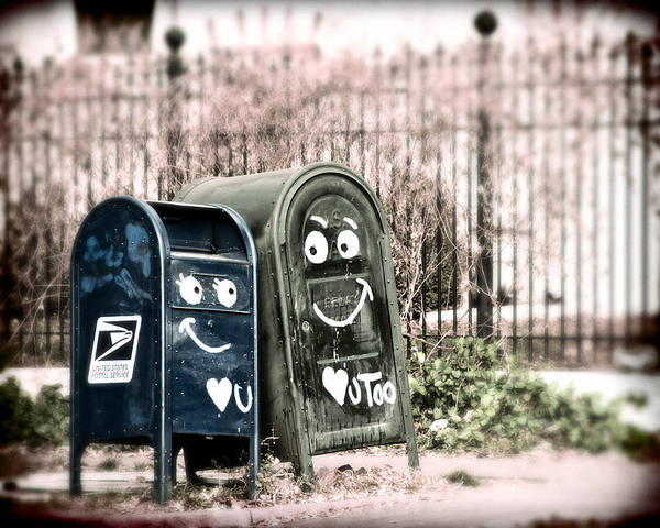 Mailbox Photograph - Love You  by Humboldt Street