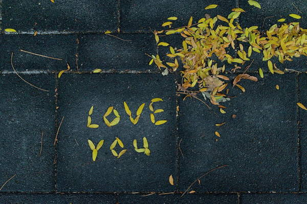 Photograph - Love You by The Mariabelones